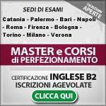MASTER E DIPLOMA PERFEZIONAMENTO 2014/2015